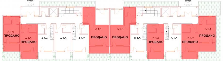 План первого этажа комплекса Антик Палас