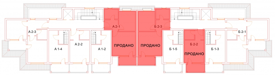 План второго этажа комплекса Антик Палас