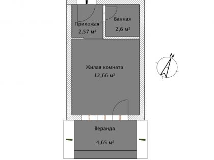 Студия А 1-3 План помещения AntiquePalace
