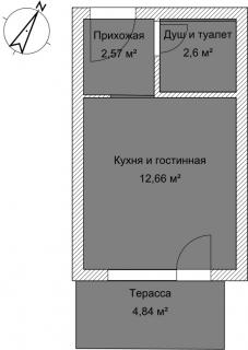 Студия Б 3-2 План помещения AntiquePalace