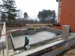 Антик Палас ( Бяла)  Продолжаем работы по бассейну