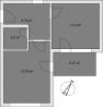 Апартамент Б 4-1 План помещения AntiquePalace
