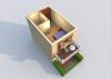 Мезонет А 1-2 2 этаж 3D вид AntiquePalace